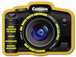 Digital Camera Shape Magnets